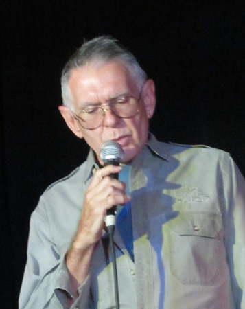 Reciting in Duluth 16 August 2018